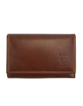 Mirella leather wallet - Brown