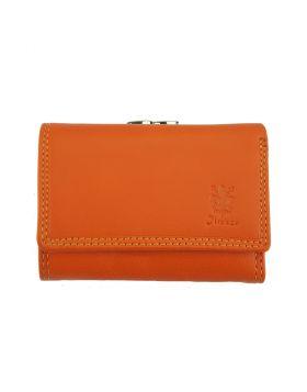 Marta leather wallet - Tan
