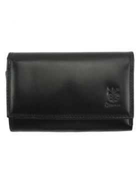 Rina GM leather wallet - Black