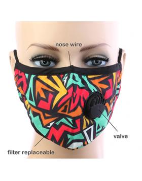 Artsy Respirator Mask - Multi