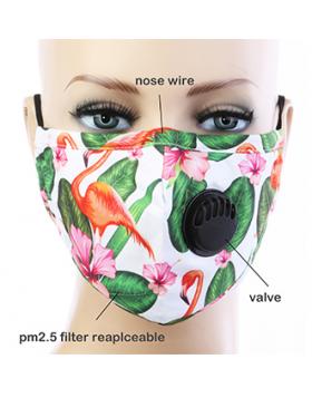 Flamingo Respirator Mask  - Multi