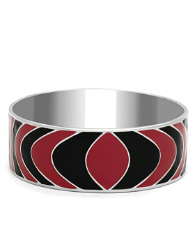 Bangle Stainless Steel High polished (no plating) Epoxy Multi Color
