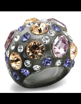 Ring Resin N/A Top Grade Crystal Multi Color