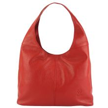 The Caïssa leather bag - Red