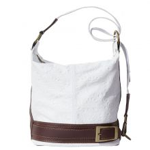 Caterina S leather shoulder bag