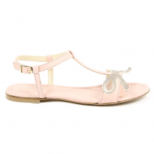 V 1969 Italia Womens Flat Sandal Pink LISA - 11187-36696-8055273032014