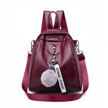 Women PU Leather Student Bag