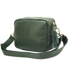 Amara leather shoulder bag