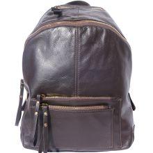 Springs leather Backpack - Dark Brown