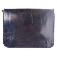 Business Briefcase (w/ shoulder strap) - Dark Blue