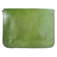 Business Briefcase (w/ shoulder strap) - Dark Green