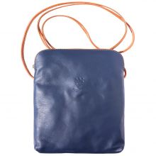 Mia GM leather unisex cross body bag