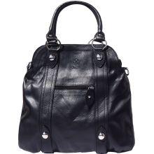 Zoe leather shoulder bag