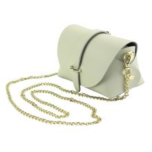 Martina Mini leather bag - Beige