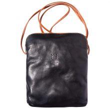 Mia GM leather unisex cross body bag