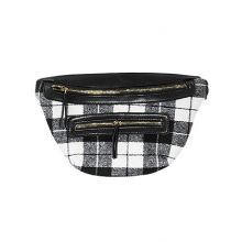 On Trend Plaid Fanny Pack