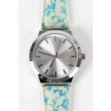 Leafy Branches Watch -  Green Multi