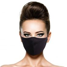 Silvadur Reusable Cotton Mask - Black
