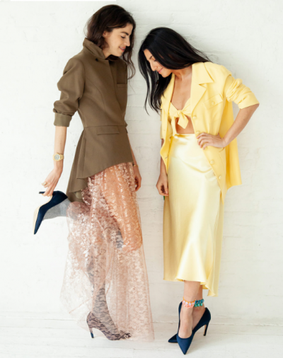 Leandra and Her Best Friend Style Each Other